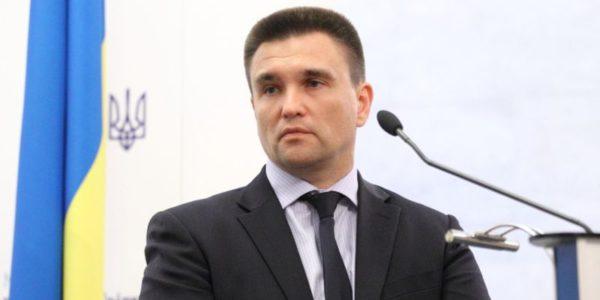 Foreign Minister of Ukraine Pavlo Klimkin