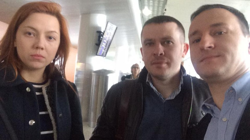 Іван Крулько, Альона Шкрум і Олексій Рябчин