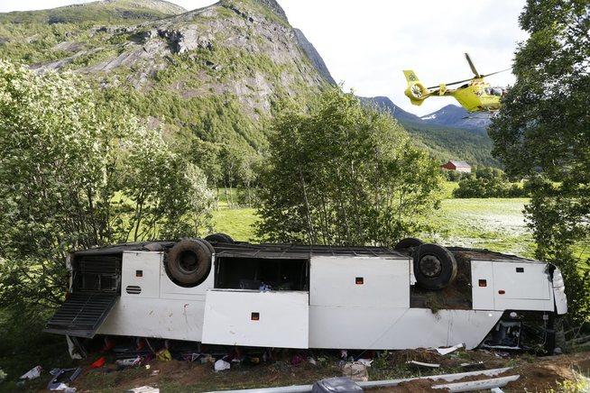 дтп в норвегії