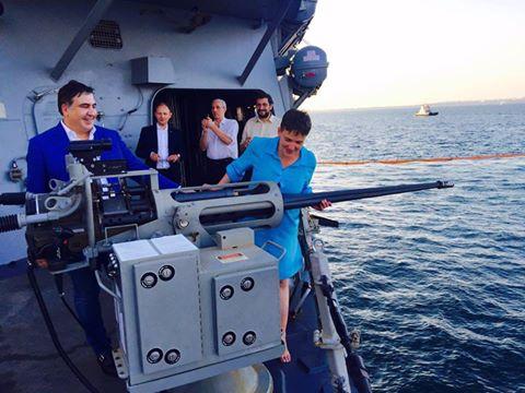 савченко на кораблі