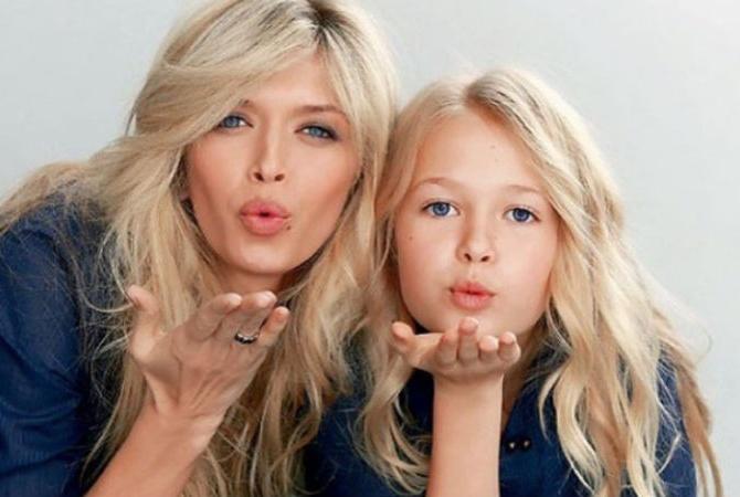 брєжнєва з дочкою