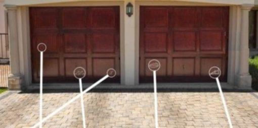 Побачивши такі позначки біля своїх дверей – телефонуйте до пoлiції  умовні  знаки злодіїв (фото) 93211b3b38375