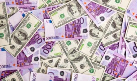 Курс валюта долар євро гроші