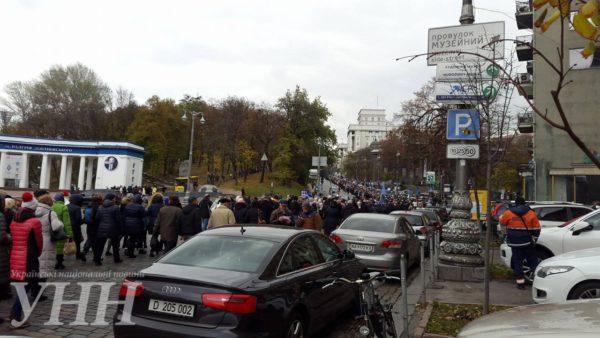 Стычка чернобыльцев с полицией произошла под Радой: вход в здание заблокирован - Цензор.НЕТ 5635
