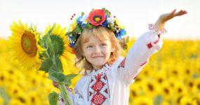 україна-патріоти ,дівчинка
