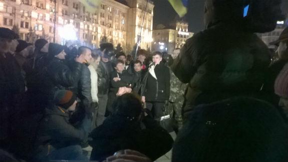савченко на майдані
